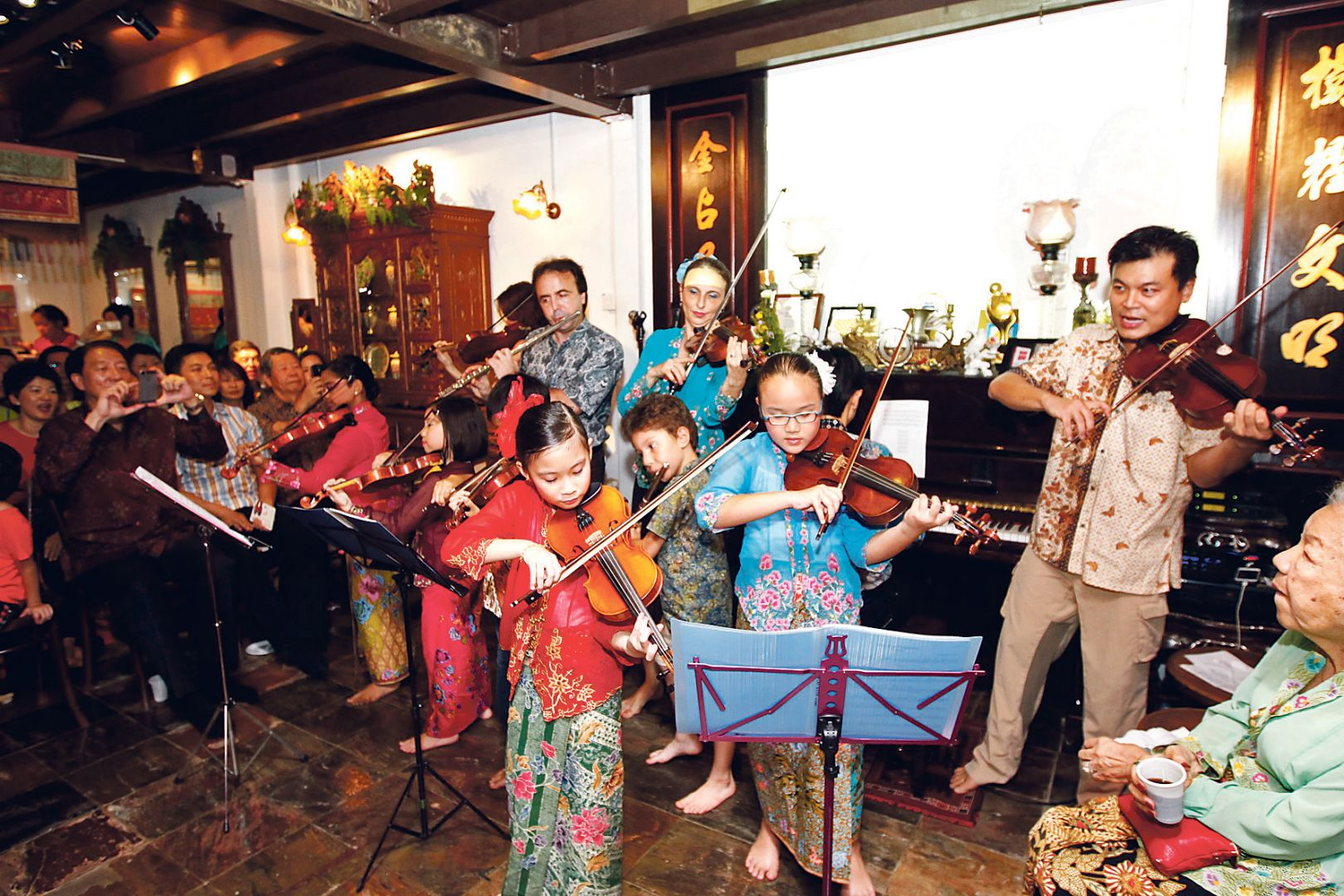 A night of Peranakan music
